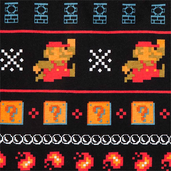 Nintendo - Super Mario 8-bit Lounge Pants with Collectors' Tin - Packshot 3