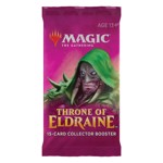 Magic The Gathering - TCG - Throne of Eldraine Collector Booster (Single Pack) - Packshot 1