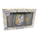 DC Comics - Batman and Joker Schooner and Can Cooler Gift Set - Packshot 2