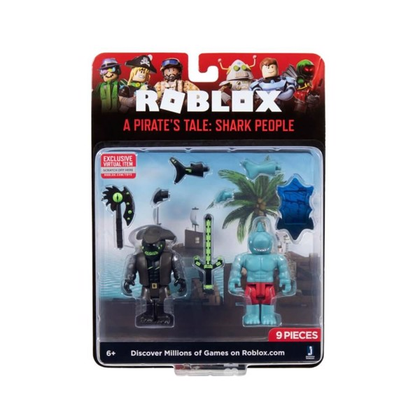 Roblox Game Pack Pirates Tail Shark People Wave 7 Assorted
