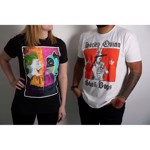 DC Comics - Harley & The Skull Bags T-Shirt - Packshot 3