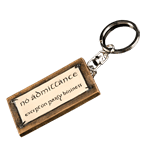 Lord of the Rings - No Admittance Keyring - Packshot 1