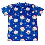 Overwatch - Pachimari Christmas Blue T-Shirt - Packshot 1