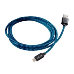 Walkntalk - 3m Lightning Charge and Sync Cable - Blue - Packshot 2