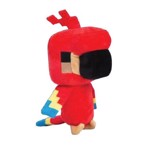 Minecraft - Happy Explorer Red Parrot Plush - Packshot 1