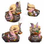 Borderlands - Tiny Tina Tubbz Duck Figurine - Packshot 2