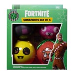 Fortnite - Bauble Collection Two 4 Pack Decorations - Packshot 1