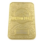 Jurassic Park - 24k gold plated Welcome Gates - Packshot 2