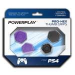 PlayStation 4 Pro Purple Power Play Thumb Grips - Packshot 1
