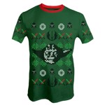 Star Wars - Yoda Green Christmas T-Shirt - Packshot 1