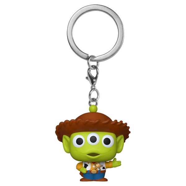 Disney - Pixar Remix - Alien as Woody Pocket Pop! Keychain - Packshot 1