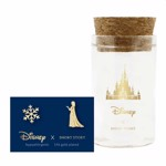 Disney - Frozen - Elsa & Snowflake Short Story Gold Stud Earrings - Packshot 1