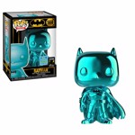 DC Comics - Batman Teal Chrome SDCC19 Pop! Vinyl Figure - Packshot 1
