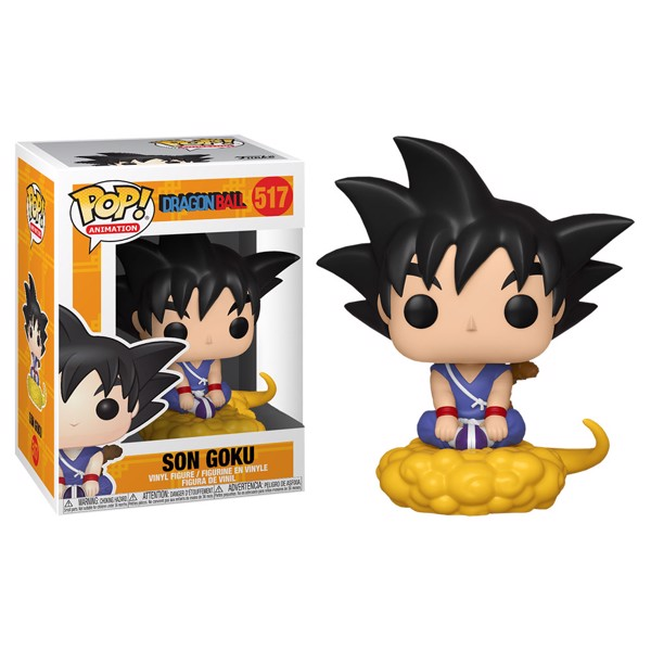 Dragon Ball - Son Goku Flying Pop! Vinyl Figure - Packshot 1