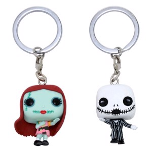 The Nightmare Before Christmas - Jack & Sally Pocket Pop! Keychain 2-Pack