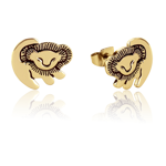 The Lion King - Baby Simba Gold Stud Earrings - Packshot 1