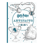 Harry Potter - Famous Artifacts Colouring Book - Packshot 1
