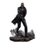 Marvel - Spider-Man: Far From Home - Nick Fury BDS 1/10 Scale Statue - Packshot 1