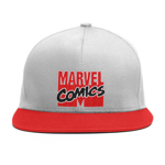 Marvel - Marvel 80th Anniversary - Retro Logo Grey and Red Cap - Packshot 1