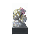 Chessex - Carousel with White 7-Die Set - Packshot 1