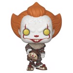 It: Chapter 2 - Pennywise with Beaver Hat Pop! Vinyl Figure - Packshot 1