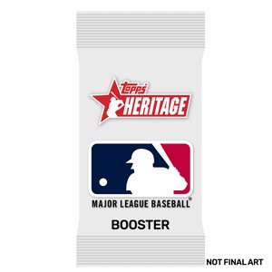 MLB - 2021 Topps Heritage Baseball Cards Booster Pack