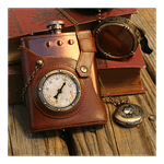 Capt. Jules' Everlasting Steampunk Flask - Packshot 2