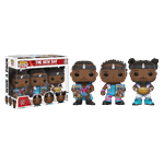 WWE - The New Day with Booty O's Pop! Vinyl Figure 3-Pack - Packshot 1