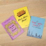 Friends - Friends Quotes Set of 3 Notebooks - Packshot 3