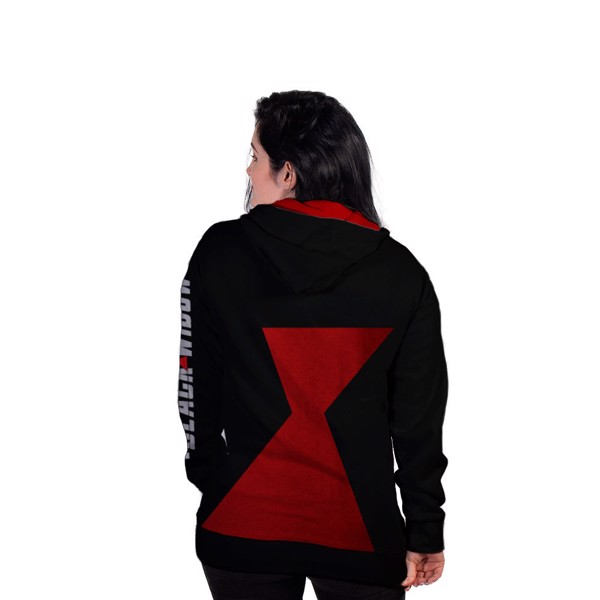 Marvel - Black Widow - Black & Red Hoodie - XXL - Packshot 5