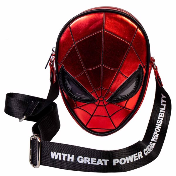 Marvel - Spider-Man Head Danielle Nicole Crossbody Bag - Packshot 1