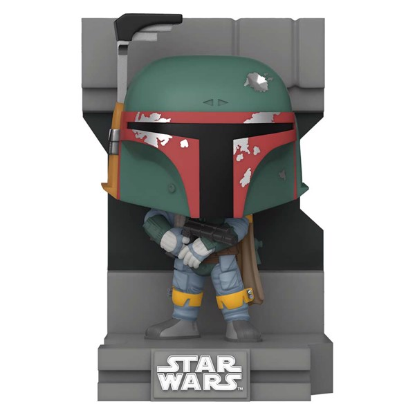 Star Wars - The Empire Strikes Back - Boba Fett Metallic Diorama Deluxe Pop! Vinyl Figure - Packshot 1