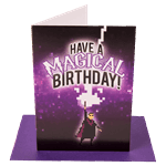 Have A Magical Birthday Greeting Card - Packshot 1