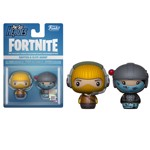 Fortnite - Raptor & Elite Agent Pint-Sized Heroes 2-Pack Figure - Packshot 1