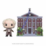 Back to the Future - Doc with Clock Tower Pop! Town - Packshot 1