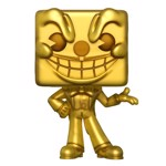 Cuphead - King Dice Gold E3 2018 Exclusive Pop! Vinyl Figure - Packshot 1