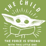 Star Wars - The Mandalorian - The Child Green Kids T-Shirt - 10 - Packshot 2