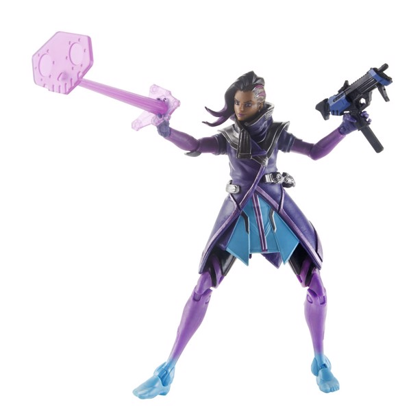 "Overwatch - Sombra 6"" Ultimates Series Collectible Action Figure - Packshot 1"