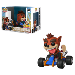 Crash Bandicoot - Crash Team Racing - Crash Go-Kart Pop! Ride Vinyl Figure