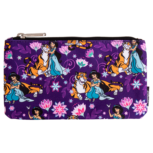 Disney - Aladdin - Jasmine & Rajah Purple Loungefly Pencil Case - Packshot 1