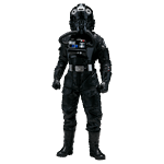 Star Wars - Rogue One - TIE Fighter Pilot 1/6 Scale Action Figure - Packshot 1