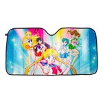 Sailor Moon - Sailor Soldiers Group Pose Auto Sun Shade - Packshot 1