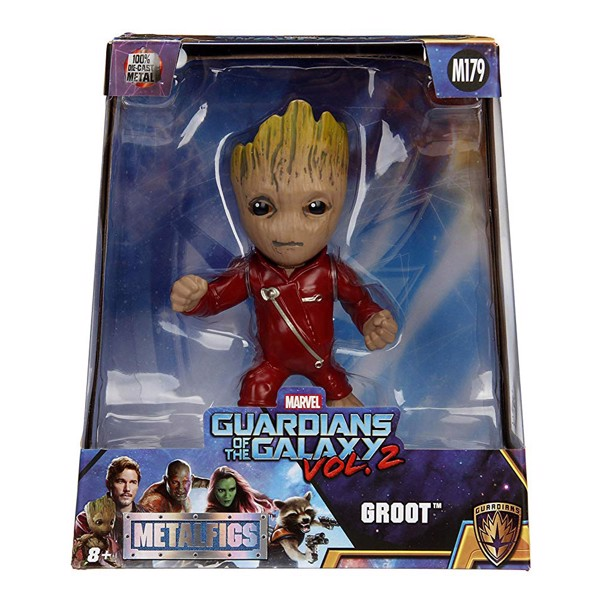 Marvel - Guardians of The Galaxy - Groot Metals Collectible Toy Figure - Packshot 2