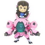 Overwatch - D.VA with MeKa Cute But Deadly Figure - Packshot 1
