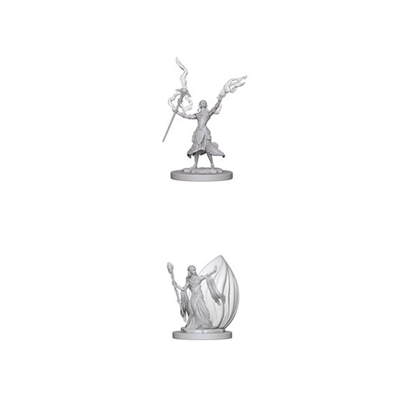 Dungeons & Dragons - Nolzur's Marvelous Miniatures -  Elf Female Wizard - Packshot 1