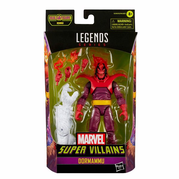 Marvel - Legends Series Super Villains Dormammu Action Figure - Packshot 4