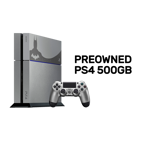 PlayStation 4 500GB Batman Arkham Knight Steel Grey Console (Premium Refurbished by EB Games) - Packshot 1
