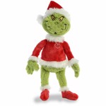 "Dr Seuss - The Grinch as Santa 19"" Plush - Packshot 1"