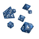 Oakie Dokie - Blue Marble RPG Dice 7-Set - Packshot 1