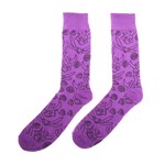 Spyro - Purple pattern Socks - Packshot 1